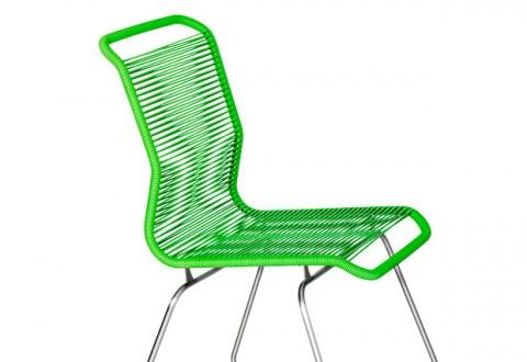 Et udsnit af dagens stol...