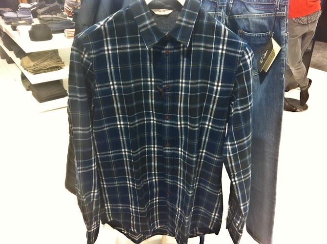 Ternet NN07 skjorte før 800 kroner, nu 560 kroner