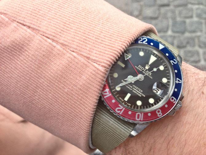 En vintage GMT'er blev spottet