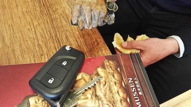 Johs bød Honda på appelsin