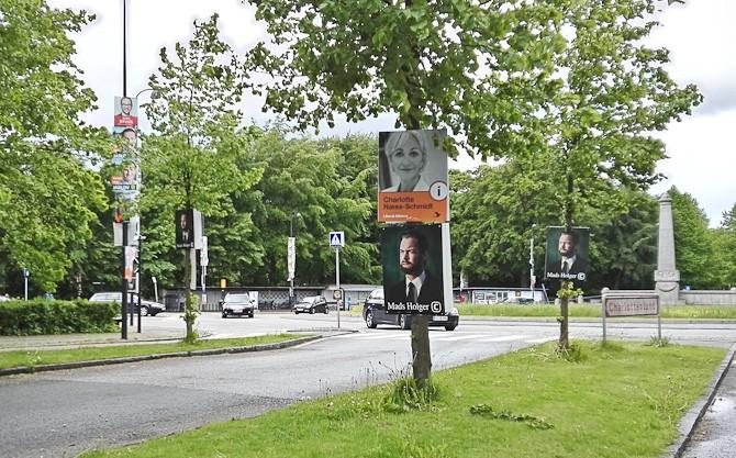 Holger kom til Charlottenlund
