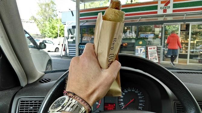 Drivers sausage