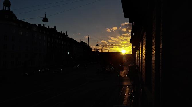 Godnat sol.
