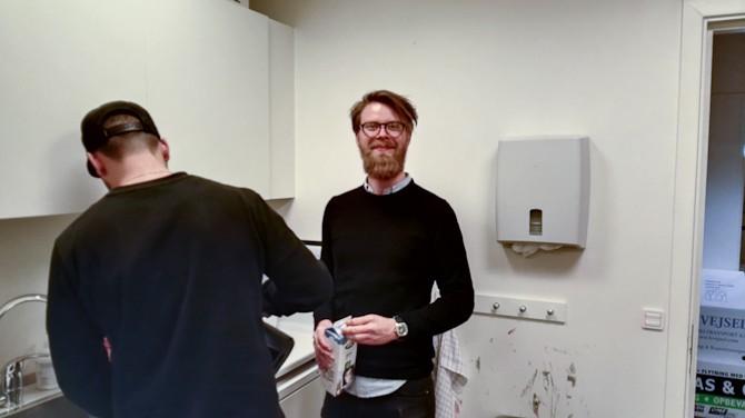 Anders vandt en liter mælk