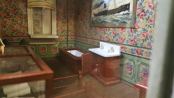 Et lille badeværelse som afrunding