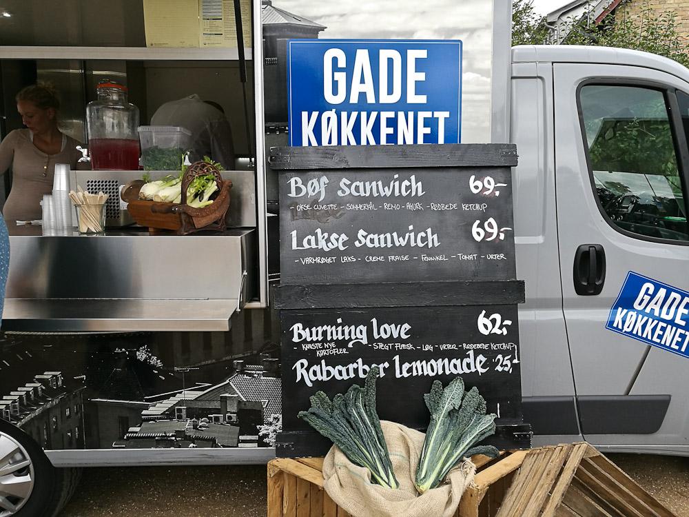 Et smut til Hornbæk, hvor denne madvogn diskede op med fine fristelser