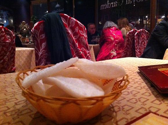 Vi spiste ægte kinesisk hos Royal Garden i København. Til rørende priser. Kan anbefales.