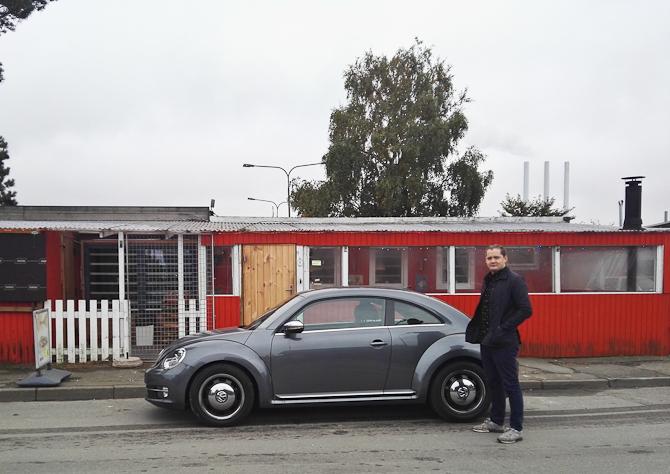Zeth Edwardsen, en VW Beetle og et helt særligt pitstop. Faktisk et truckstop...