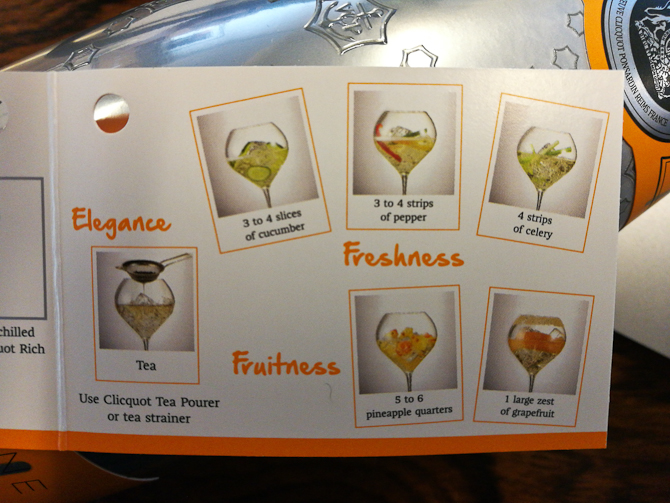 How to Veuve Clicquot Rich del 2