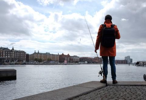 Et sted i København en lørdag formiddag