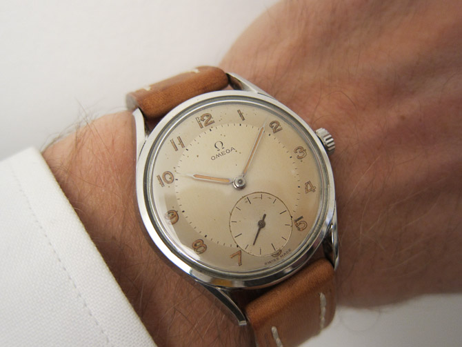 Omega Sub-second, Manual, anno 1954, Ø: 36 mm, 8.400 kroner