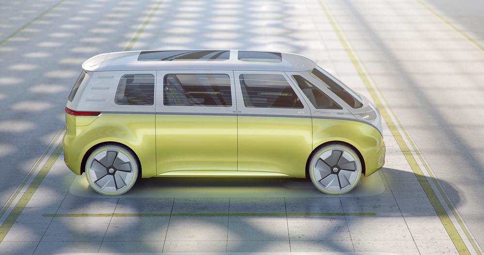 Plads til otte. Hvis bilen bliver en realitet. Men det tror jeg nu nok, den gør.
