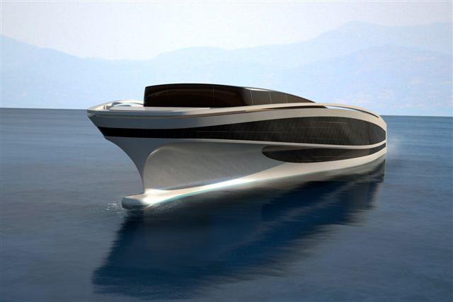 Futuristisk og smuk - og en prototype. Hvem kommer først til mølle?