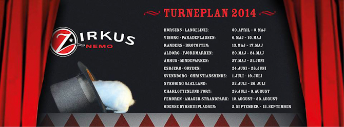 Årets tourplan