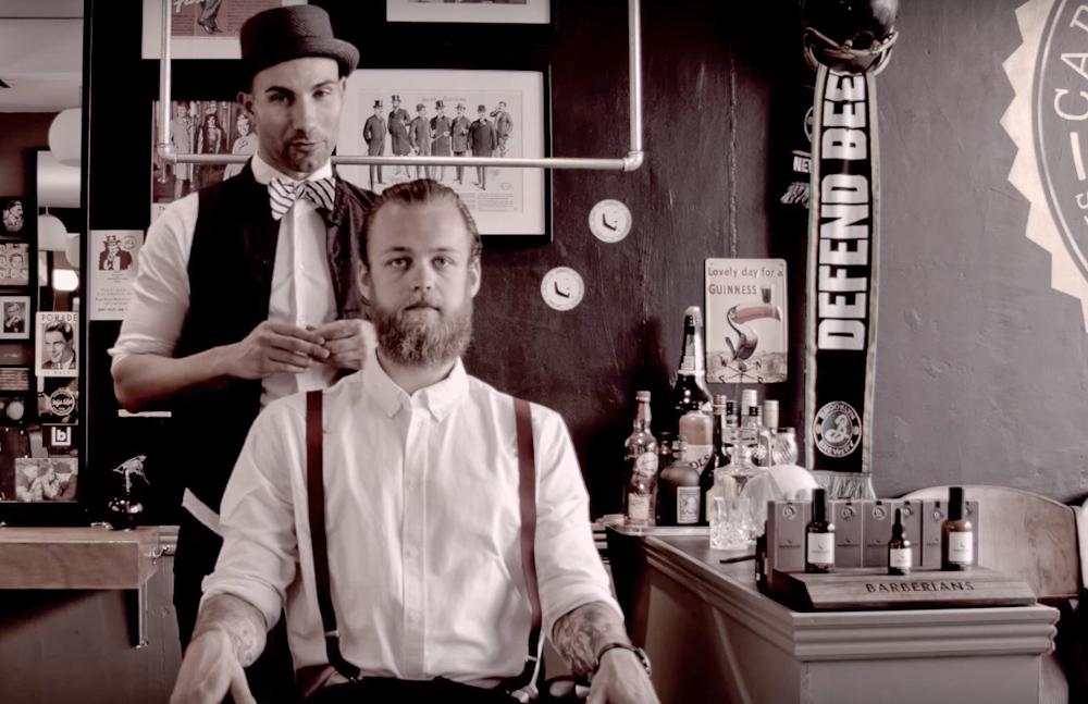 Fra en flot demovideo, som findes på Barberianscph.dk