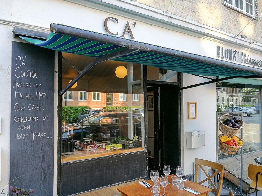 Et Mægtigt Besøg På Ca Cucina En Italiensk Restaurant I Hellerup