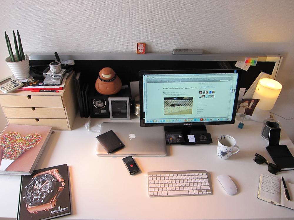Har du nogensinde set Købehavn fra en DC9? Ellet et skrivebord fra en Canon S95 linse?