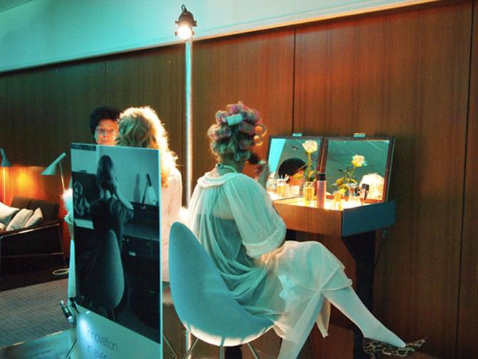 Her ser Dråben i brug - fotoet stammer fra en artikel, jeg skrev i 2010, da hotellet fyldte år