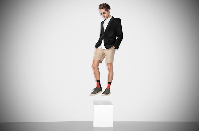 Det er ved at være tid til korte bukser. Og nye sko..