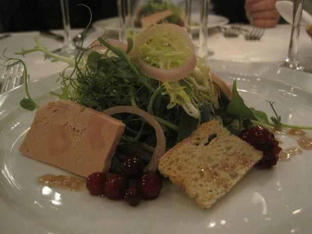 Foie gras. Herrefedt og lækkert.