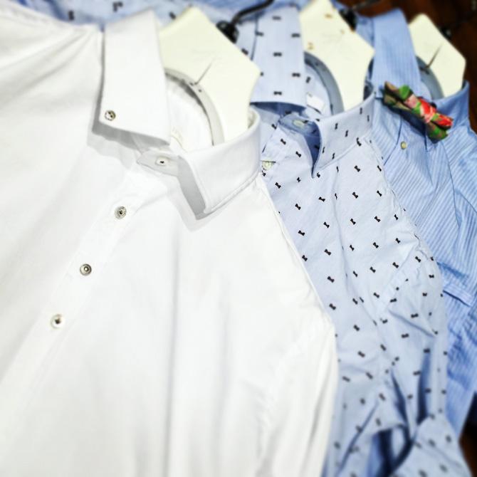 3 nye skjorter fra Aglini