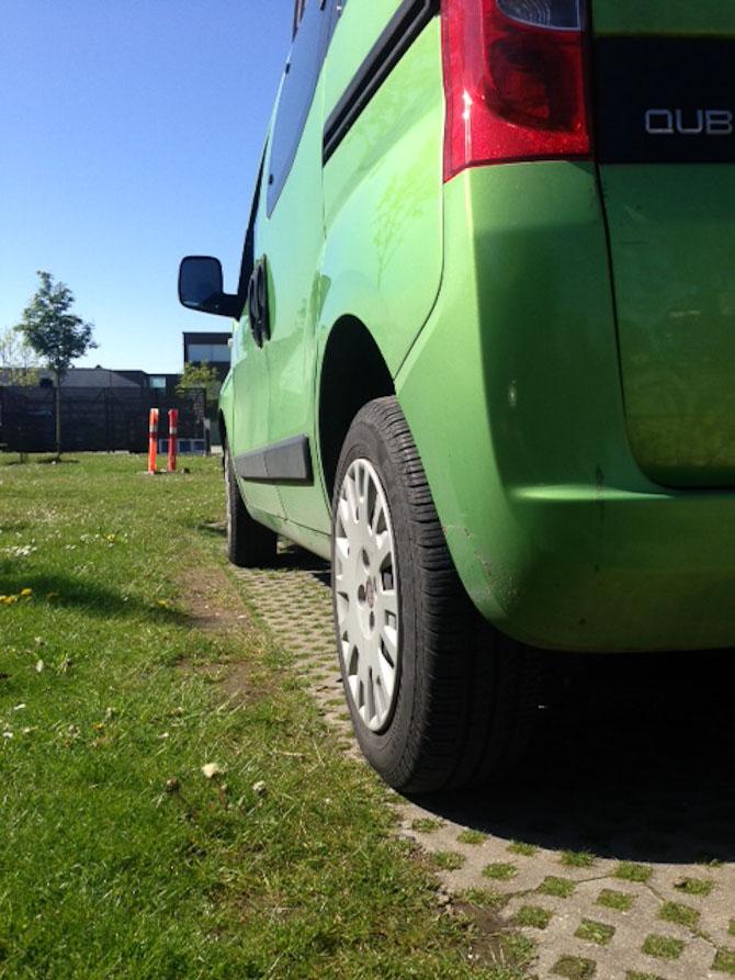 Grøn vogn