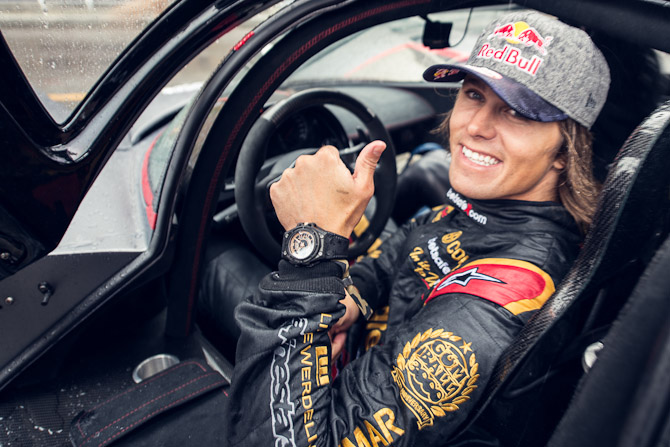 Jon Olsson med SpidoLite II Black Gold
