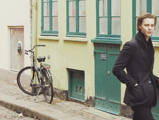 Cyklen spiller en væsentlig rolle i hovedstaden. Og det er i øvrigt Jeppe til højre.