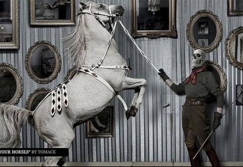 Vorherre med hest