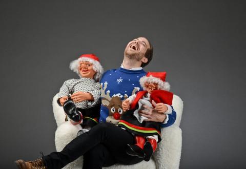 Så blev det jul - og en morsom en endda. Og i flot selskab!