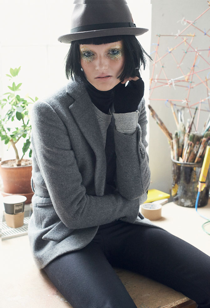 The Artist Foto: KATRINE ROHRBERG / Tomorrow Management  Model: FREDERIKKE / Gossip Model Management