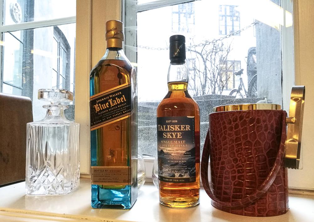 Whisky i karmen.