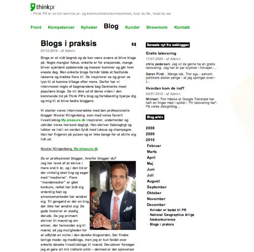 Klingenberg - nu på en anden blog...