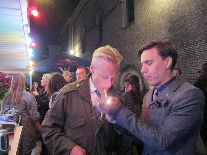 Gode danske gutter - Mads og Sebastian.