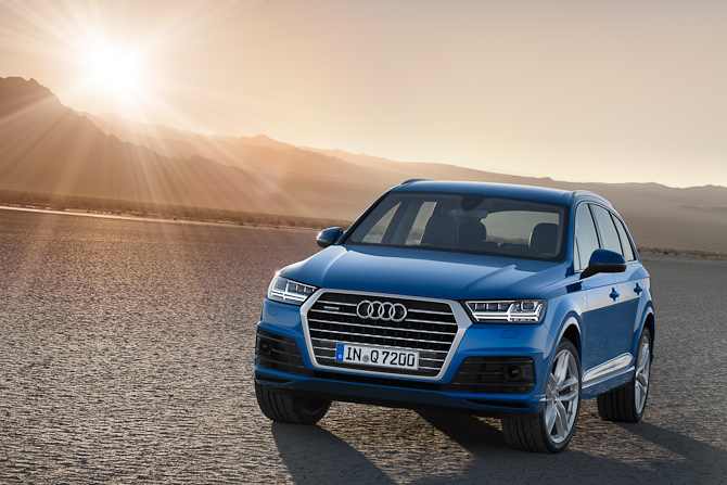 Audi Q7. Den nye.