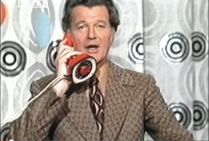 En karismatisk mand. Foto: Screendump fra Youtube og vistnok via DR.