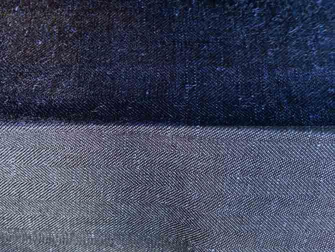 Close-up af sildebenet