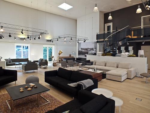 Showroom i 2800 Lyngby.