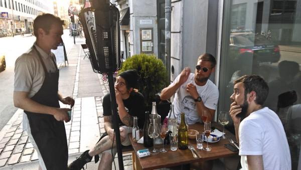 Disse fire mænd har alle relation til Kjøbenhavn. Men det er manden med huen, der er dommer.