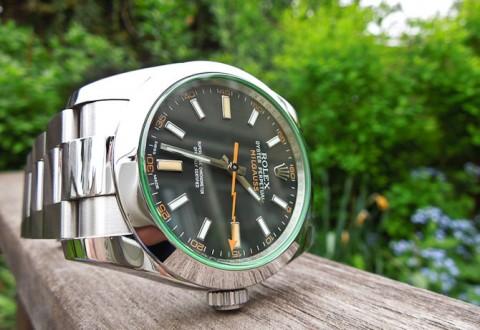 Denne Rolex Milgauss spiller en væsentlig rolle - og så alligevel ikke....