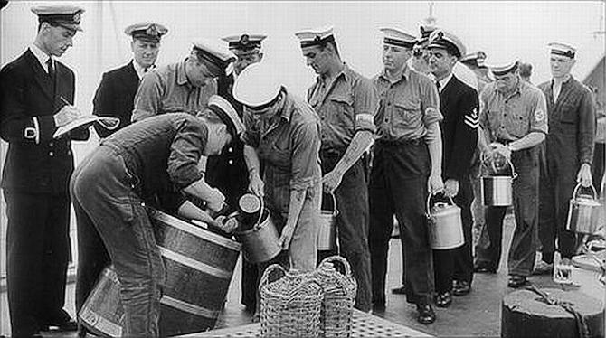 Sømænd, rom og gamle dage...