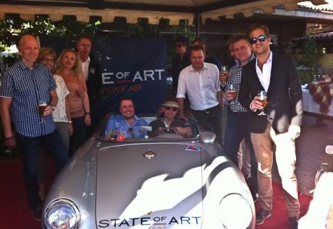 State of Art sendte to svært heldige danskere afsted til 1000 Miglia! Reportage følger.