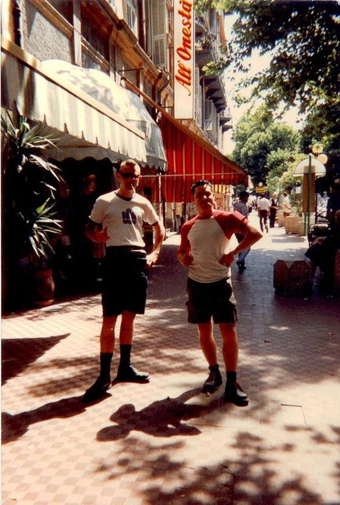 Et par gutter i San Remo anno 1992