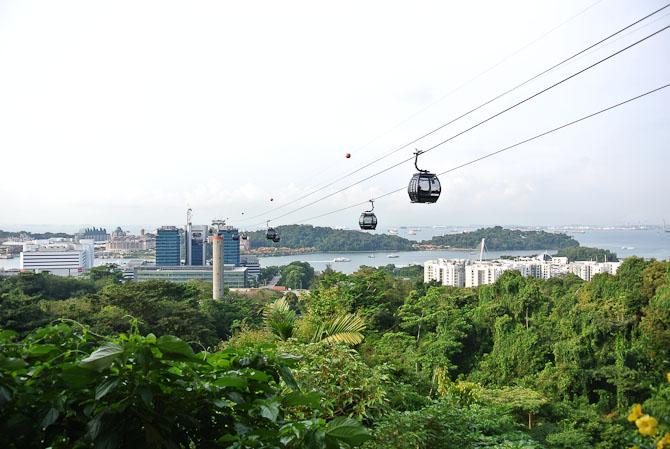 Netop landet i Singapore - og så lige et smut på en hurtig sightseeing...
