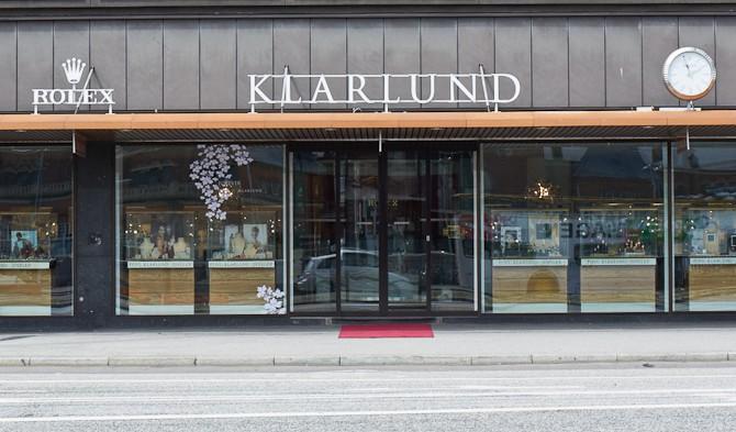 Det er her, vi skal være: Hos Klarlund på Vesterbrogade 6.