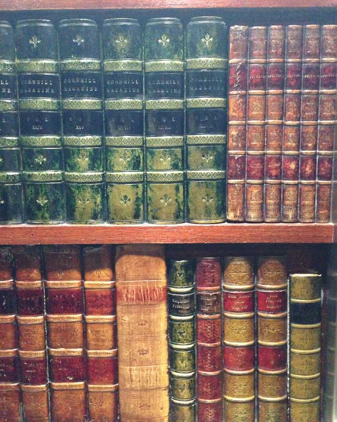 Falsk bibliotek