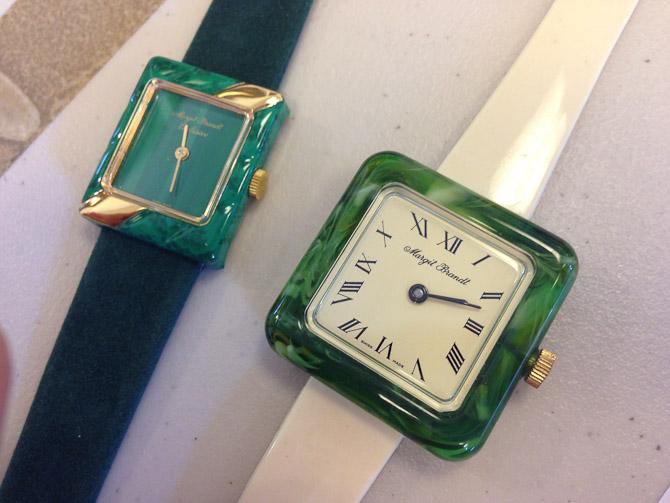 """Er du pige og glad for """"vintage"""", så lur lige på disse to Margit Brandt ure med schweiziske værker - så gode som nye og på vej på auktion."""