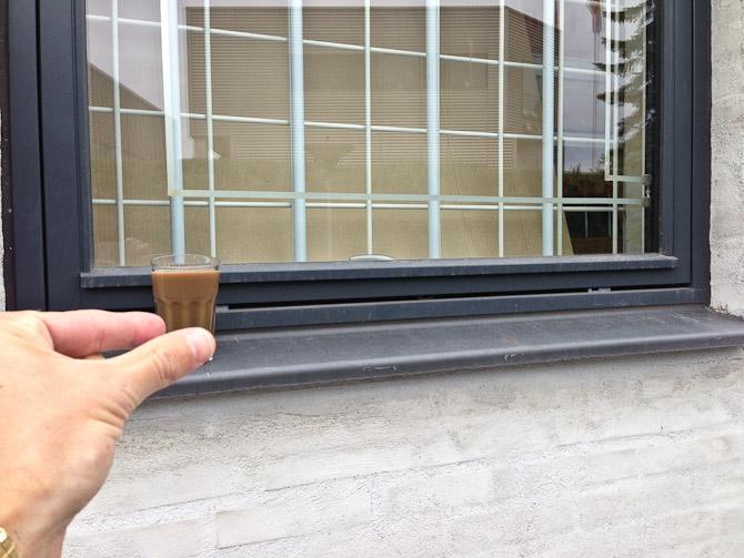 Ugens kaffe var utrolig lille