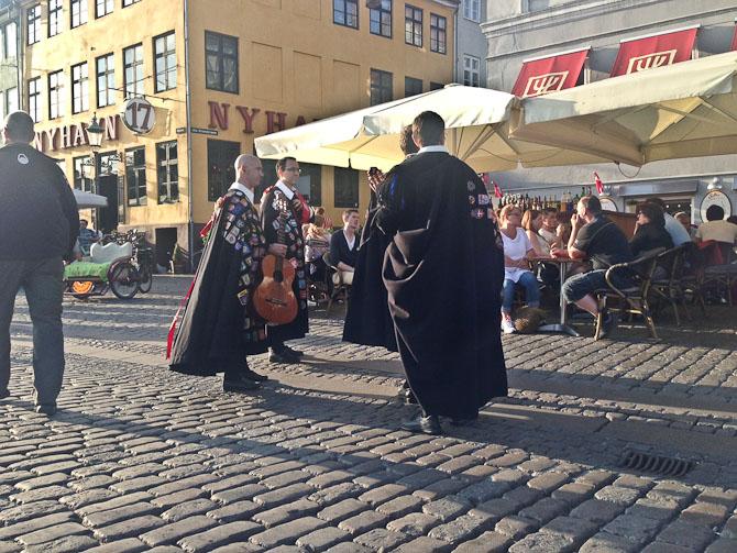 Der var koncert i Nyhavn
