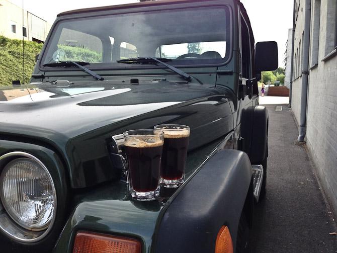 Kaffemoment med rekvisit fra Berto